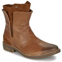 鞋子 女孩 短筒靴 Ikks PAMELA 棕色