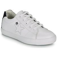 鞋子 女孩 球鞋基本款 Ikks MOLLY 白色 / 黑色