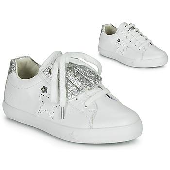 鞋子 女孩 球鞋基本款 Ikks MOLLY 白色 / 银灰色