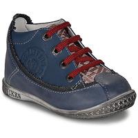 鞋子 男孩 短筒靴 Ikks STEVEN 海藍色 / 紅色
