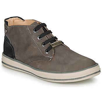 鞋子 男孩 高帮鞋 Ikks MARK 灰色