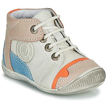 鞋子 男孩 短筒靴 GBB PAOLO 白色 / 米色 / 蓝色