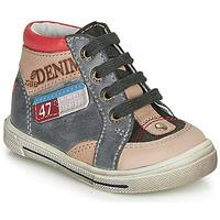 鞋子 男孩 高帮鞋 GBB PARIS 灰色 / 米色