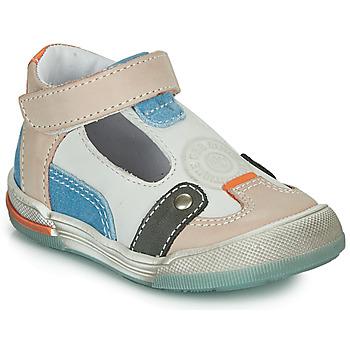 鞋子 男孩 凉鞋 GBB PERCEVAL 白色 / 米色 / 蓝色
