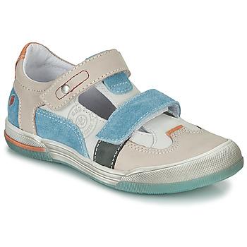 鞋子 男孩 凉鞋 GBB PRINCE 浅米色 / 米色 / 蓝色