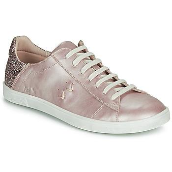 鞋子 女孩 球鞋基本款 Achile PAULA 玫瑰色