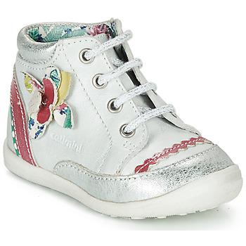 鞋子 女孩 短筒靴 Catimini POUSSIN 白色