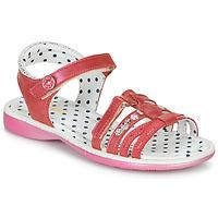 鞋子 女孩 凉鞋 Catimini PASTEL 玫瑰色