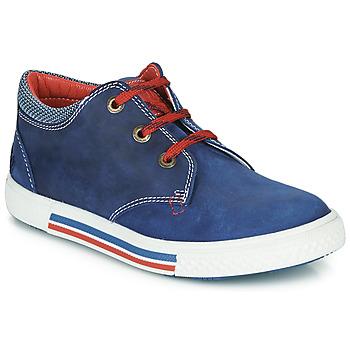 鞋子 男孩 球鞋基本款 Catimini PALETTE 蓝色 / 红色