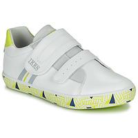 鞋子 男孩 球鞋基本款 Ikks JOE 白色 / 黄色