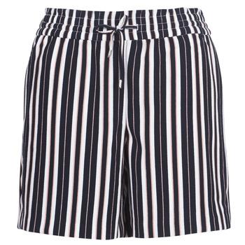 衣服 女士 短裤&百慕大短裤 Only ONLPIPER 海蓝色 / 白色