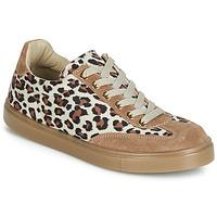 鞋子 女士 球鞋基本款 André ARDOISE Leopard