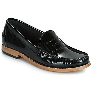 鞋子 女士 皮便鞋 André CESAR 黑色