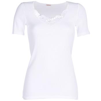 内衣  女士 汗衫, 背心 Damart CLASSIC GRADE 3 白色