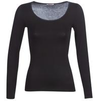 內衣  女士 汗衫, 背心 Damart MICROFIBRE GRADE 2 黑色
