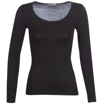 内衣  女士 汗衫, 背心 Damart MICROFIBRE GRADE 2 黑色