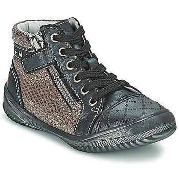 鞋子 女孩 短筒靴 GBB LEONIA 灰色 / 银色