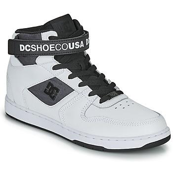 鞋子 男士 高帮鞋 DC Shoes PENSFORD SE 白色 / 黑色