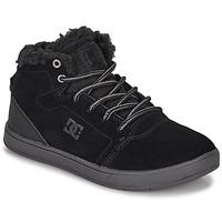 鞋子 儿童 高帮鞋 DC Shoes CRISIS HIGH WNT 黑色