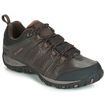 鞋子 男士 多项运动 Columbia 哥伦比亚 WOODBURN II WATERPROOF 棕色
