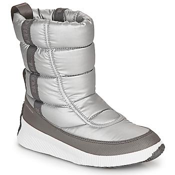 鞋子 女士 雪地靴 Sorel OUT N ABOUT PUFFY MID 灰色