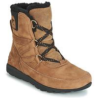 鞋子 女士 短筒靴 Sorel WHITNEY SHORT LACE PREMIUM 驼色