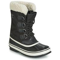 鞋子 女士 雪地靴 Sorel WINTER CARNIVAL 黑色