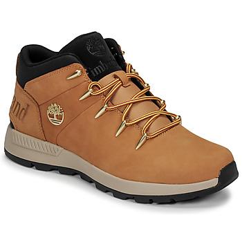 鞋子 男士 短筒靴 Timberland 添柏岚 EURO SPRINT TREKKER 棕色