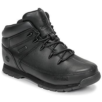 鞋子 儿童 短筒靴 Timberland 添柏岚 EURO SPRINT 黑色
