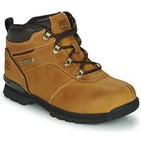 鞋子 儿童 短筒靴 Timberland 添柏岚 SPLITROCK 2 棕色