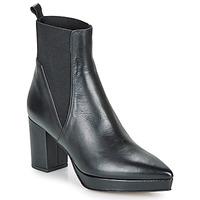 鞋子 女士 短筒靴 Castaner OLGA 黑色