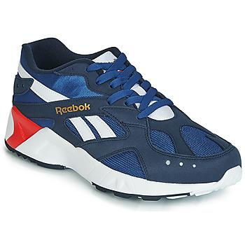 鞋子 男士 球鞋基本款 Reebok Classic AZTREK 蓝色