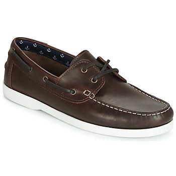 鞋子 男士 船鞋 André BENDOR 棕色