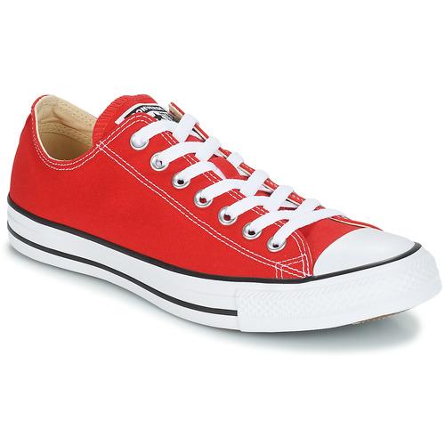 鞋子 球鞋基本款 Converse 匡威 CHUCK TAYLOR ALL STAR CORE OX 红色