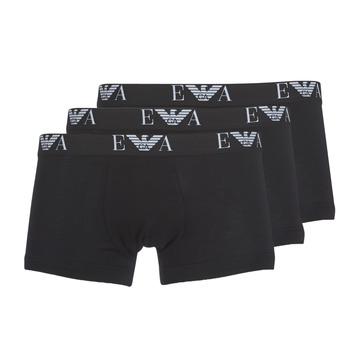 内衣  男士 拳击 Emporio Armani CC715-111357-21320 黑色