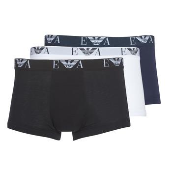 内衣  男士 拳击 Emporio Armani CC715-111357-56110 白色 / 黑色 / 海蓝色