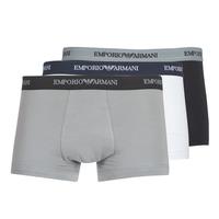 内衣  男士 拳击 Emporio Armani CC717-111357-02910 白色 / 黑色 / 灰色