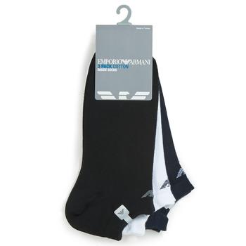 配件 男士 短筒襪 Emporio Armani CC134-300008-00997 白色 / 黑色 / 海藍色