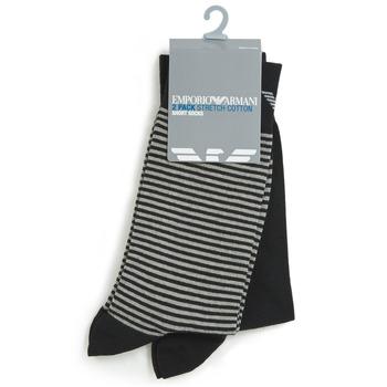 配件 男士 短筒襪 Emporio Armani CC114-302302-00020 黑色