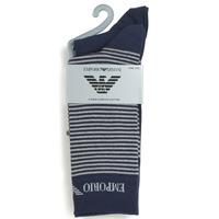 配件 男士 短筒袜 Emporio Armani CC114-302302-00035 海蓝色