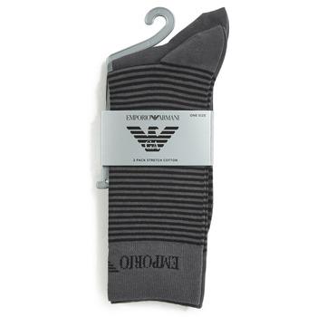 配件 男士 短筒襪 Emporio Armani CC114-302302-00044 灰色