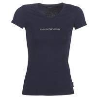 衣服 女士 短袖体恤 Emporio Armani CC317-163321-00135 海蓝色