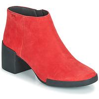 鞋子 女士 短靴 Camper 看步 LOTTA 红色