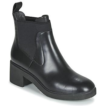 鞋子 女士 短筒靴 Camper 看步 WONDER CHELSEA 黑色