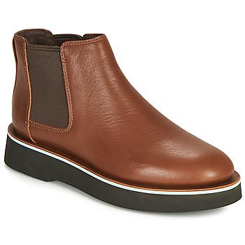 鞋子 女士 短筒靴 Camper 看步 TYRA chelsea Edium / 棕色