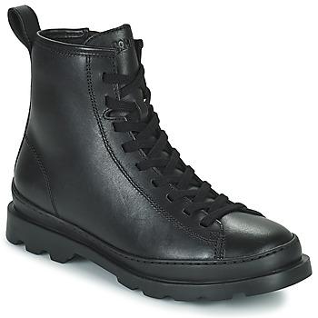 鞋子 女士 短筒靴 Camper 看步 BRUTUS 黑色