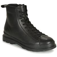 鞋子 男士 短筒靴 Camper 看步 BRUTUS 黑色