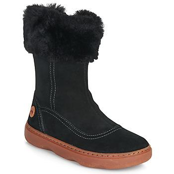 鞋子 女孩 都市靴 Camper 看步 KIDDO 黑色