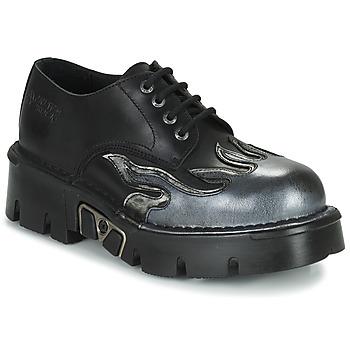 鞋子 男士 德比 New Rock M-1553-C3 黑色
