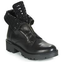 鞋子 女士 短筒靴 Tosca Blu DIANE 黑色